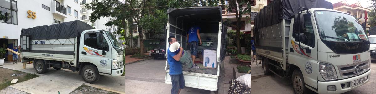 Thuê xe tải tại Hạ Long