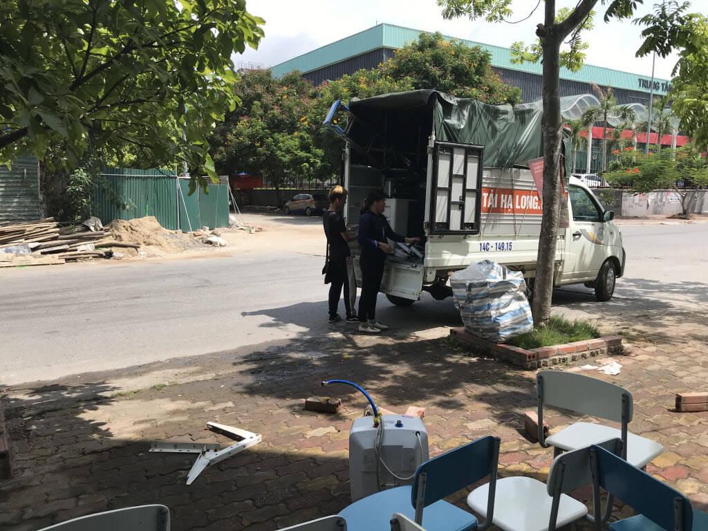 Dịch vụ cho thuê xe chuyển nhà tại Hạ Long