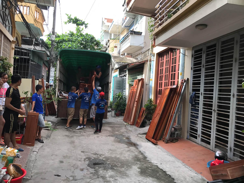 Dịch vụ chuyển nhà tại Hạ Long