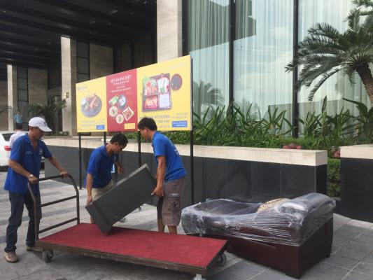 Dịch vụ chuyển nhà trọn gói Hạ Long
