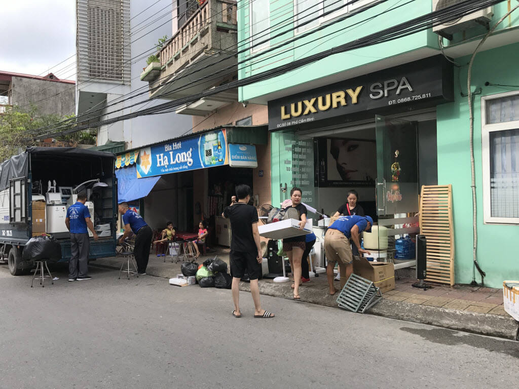 Dịch vụ dọn nhà trọn gói tại Cẩm Phả