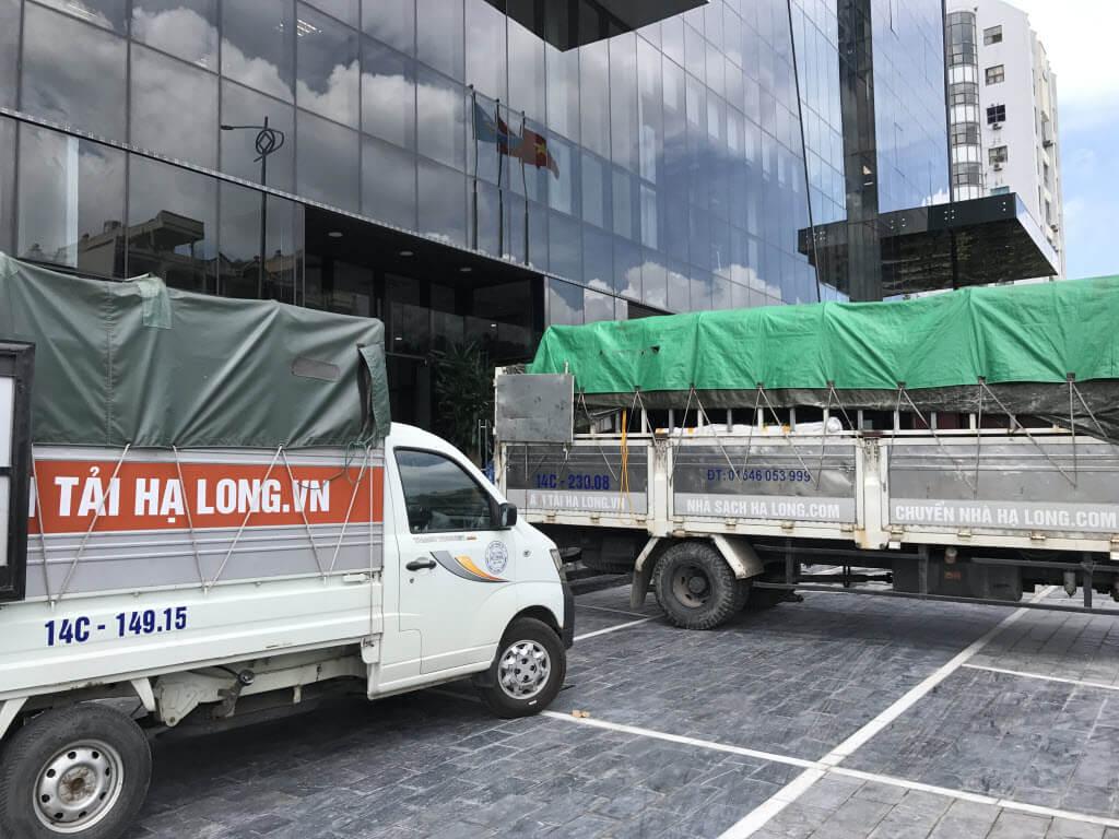 Taxi tải ở Hạ Long