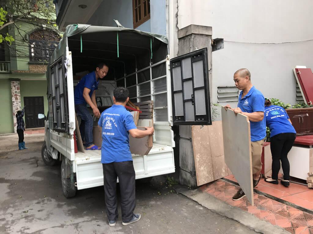Dịch vụ chuyển nhà tốt nhất Hạ Long