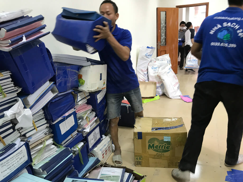 Dịch vụ chuyển văn phòng