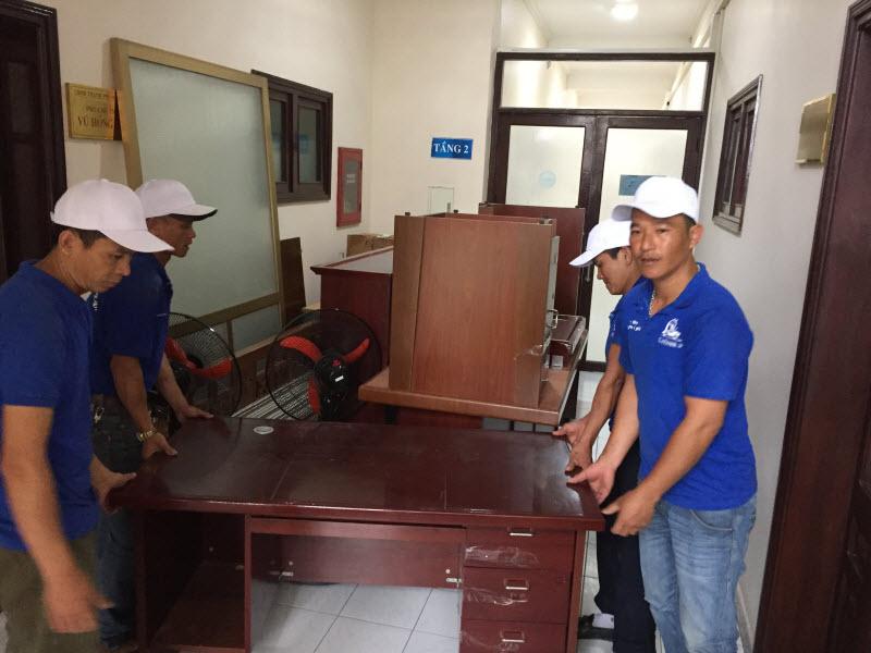 Chuyển văn phòng thanh tra thành phố Hạ Long