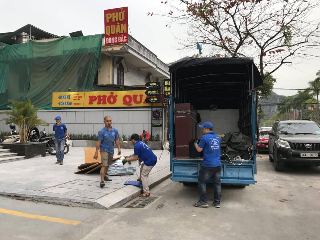 Dịch vụ chuyển nhà giá rẻ Quảng Ninh