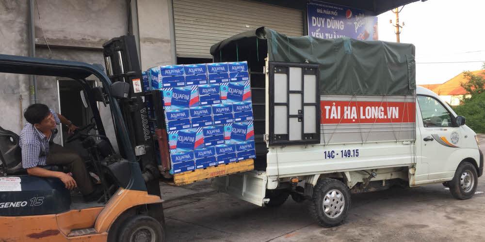 taxi tải giá rẻ hạ long