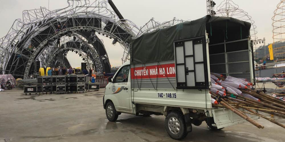 Thuê xe tải 500 kg hạ long