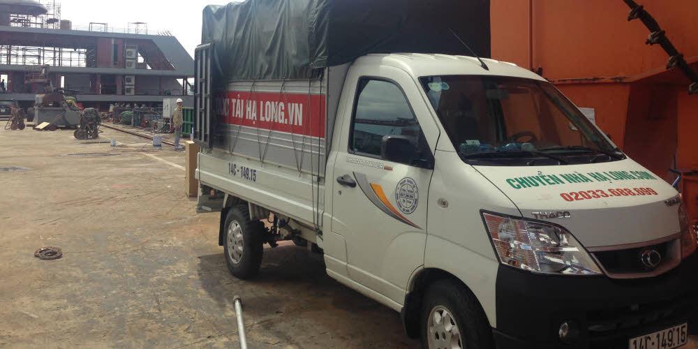 Dich vụ thuê xe tải chở hàng quảng ninh