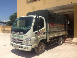 Kích thước xe tải 2.5 tấn