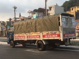 Kích thước thùng xe tải 7 tấn