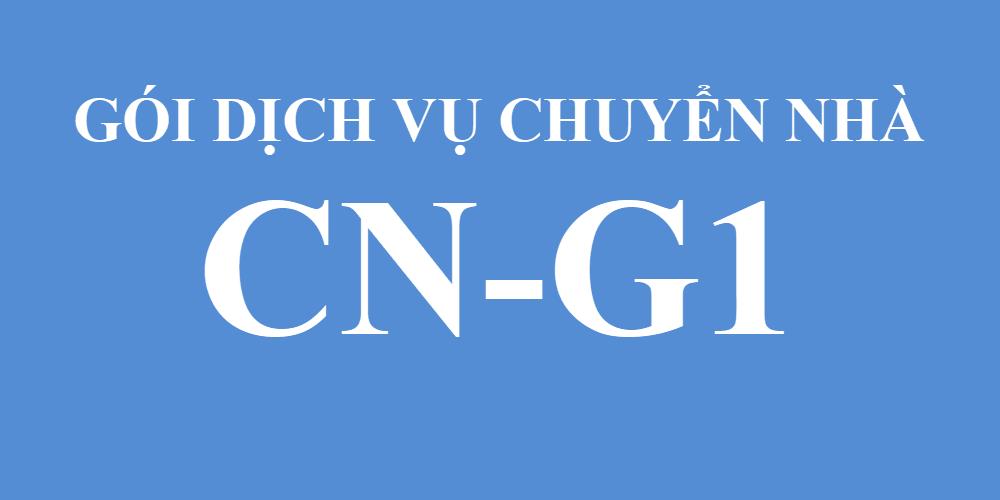 Gói dịch vụ chuyển nhà CN-G1