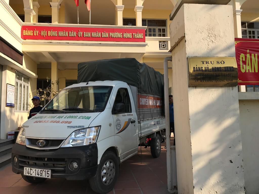Chuyển văn phòng UBND Phường Hùng Thắng 3