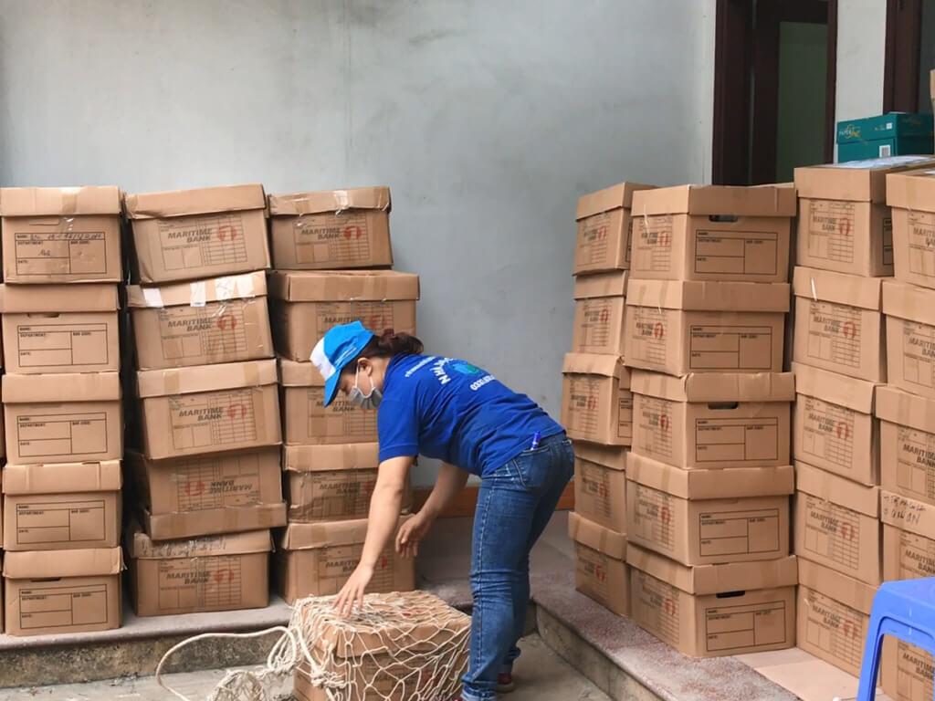 Chuyển tài liệu ngân hàng MSB Quảng Ninh