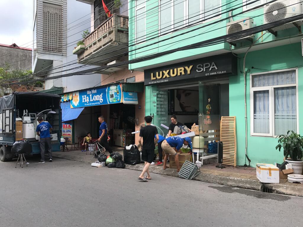 Chuyển nhà tại Cẩm Phả