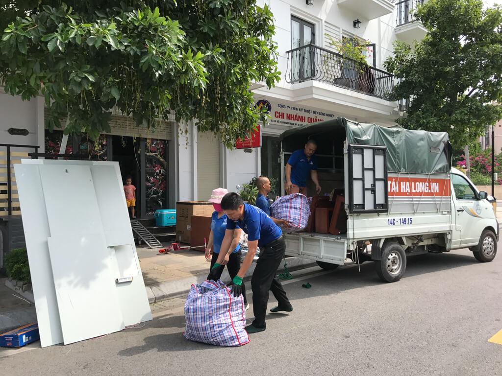 Dịch vụ chuyển nhà tại cẩm phả