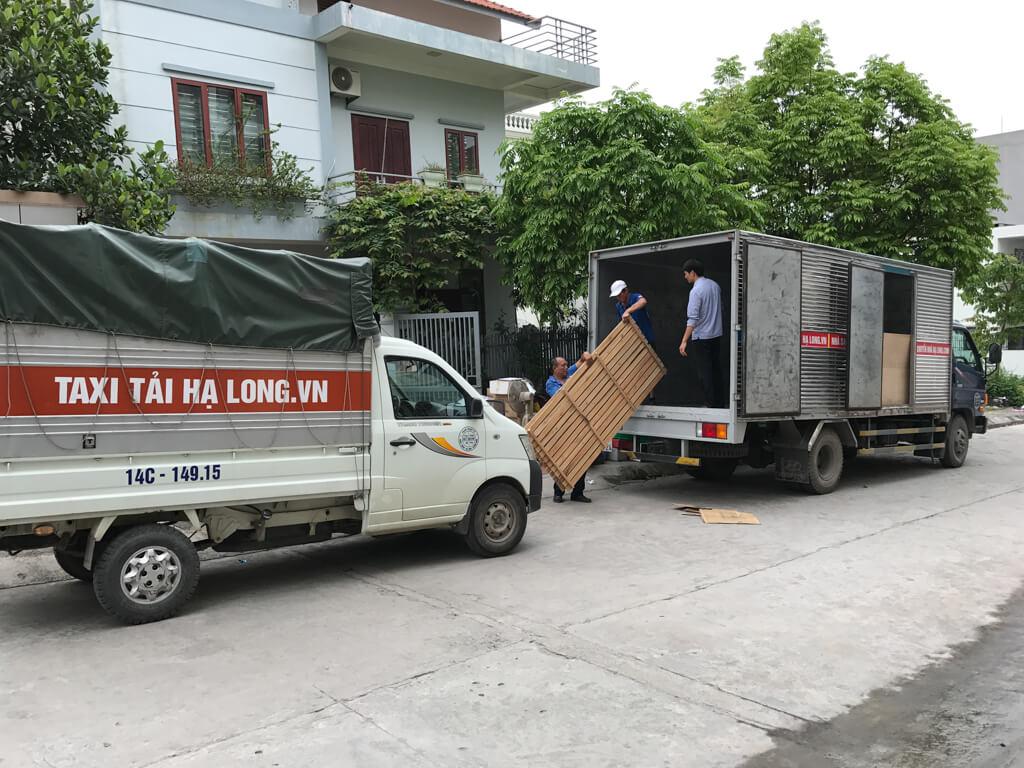xe tải dọn đồ hạ long